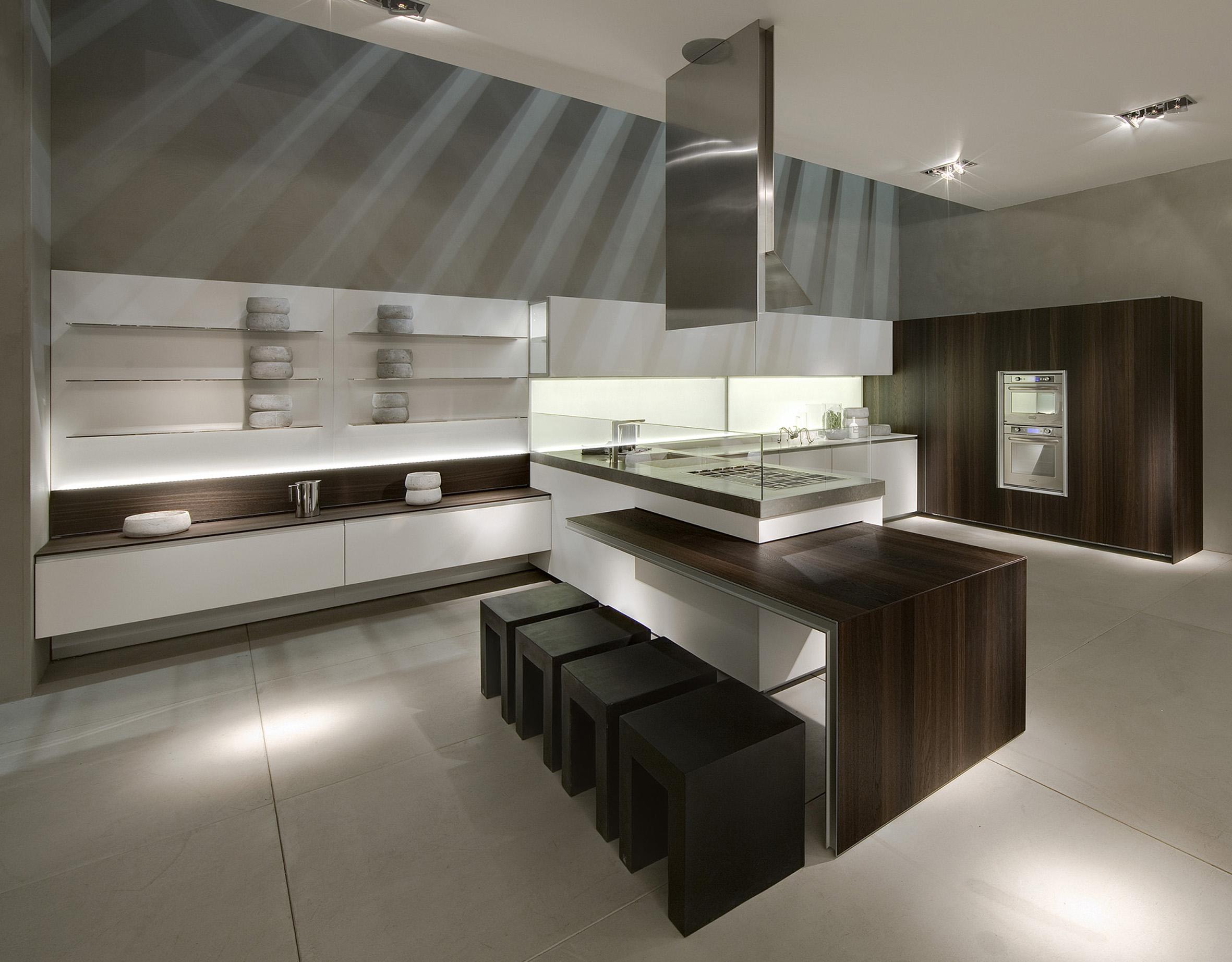La prima di ernestomeda a living kitchen - Cucine ernestomeda immagini ...